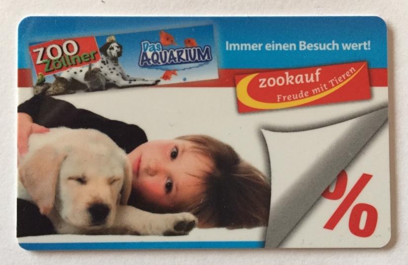 Zoo Zöllner - Kundenkarte